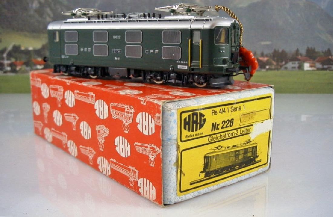 HAG scale 1:87 (H0) Nr 226 DC Swiss electric locomotive