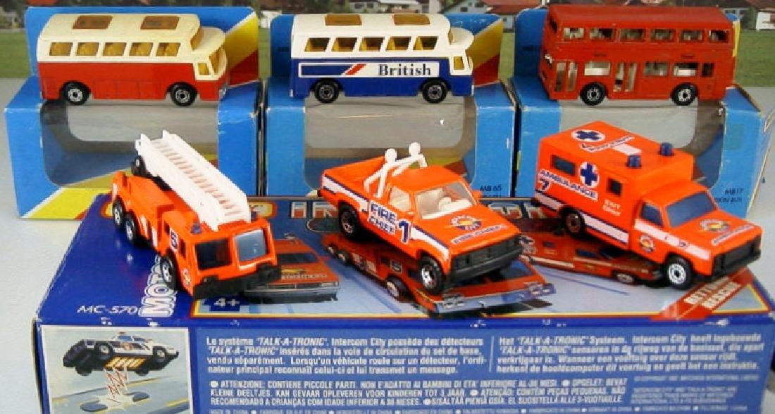 Machbox 1/87 MC-570, MB 17, MB 65, MB 67 city vehicles