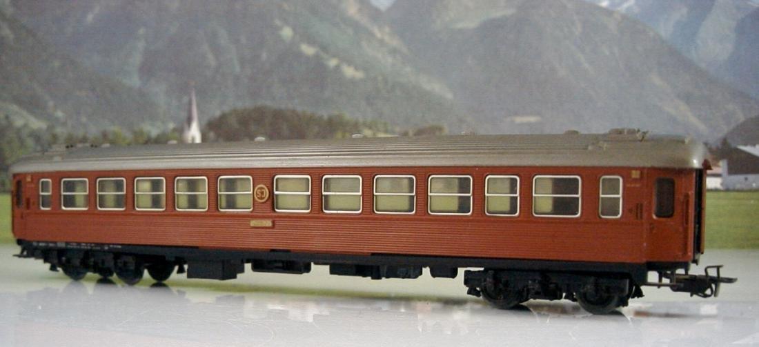 Märklin Scale 1:87 H0 AC 4072 Swedish D-train carriage