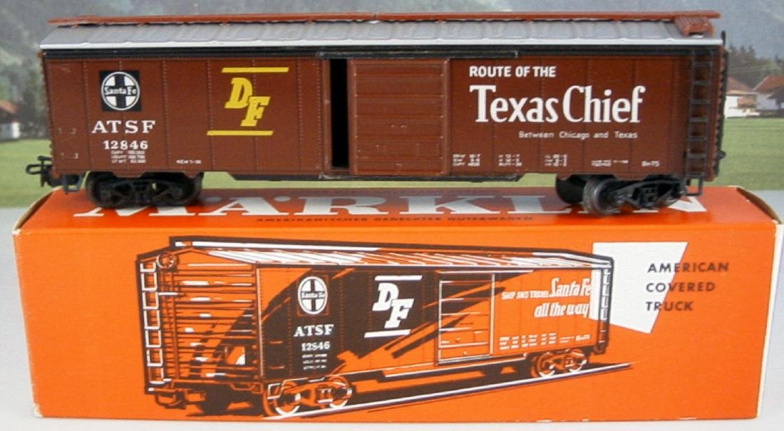 Märklin scale 1:87 (H0) AC 4572 Santa Fe box car ATSF