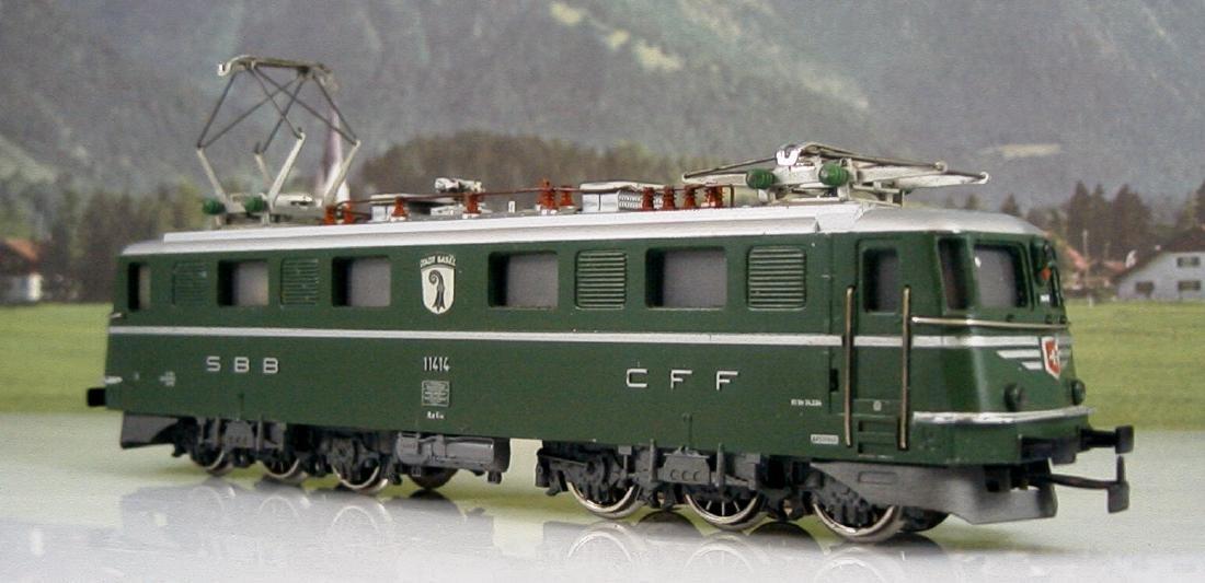 Màrklin scale 1:87 H0 DC 8350 Swiss electric locomotive