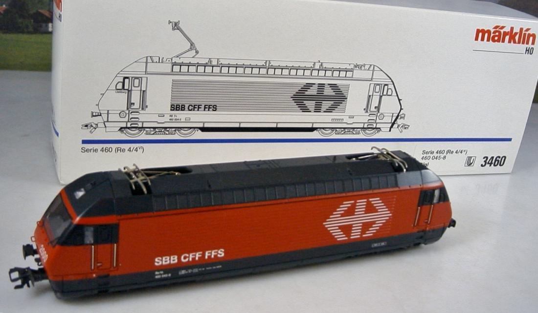 Märklin scale 1:87 AC delta digital 3460.4 locomotive
