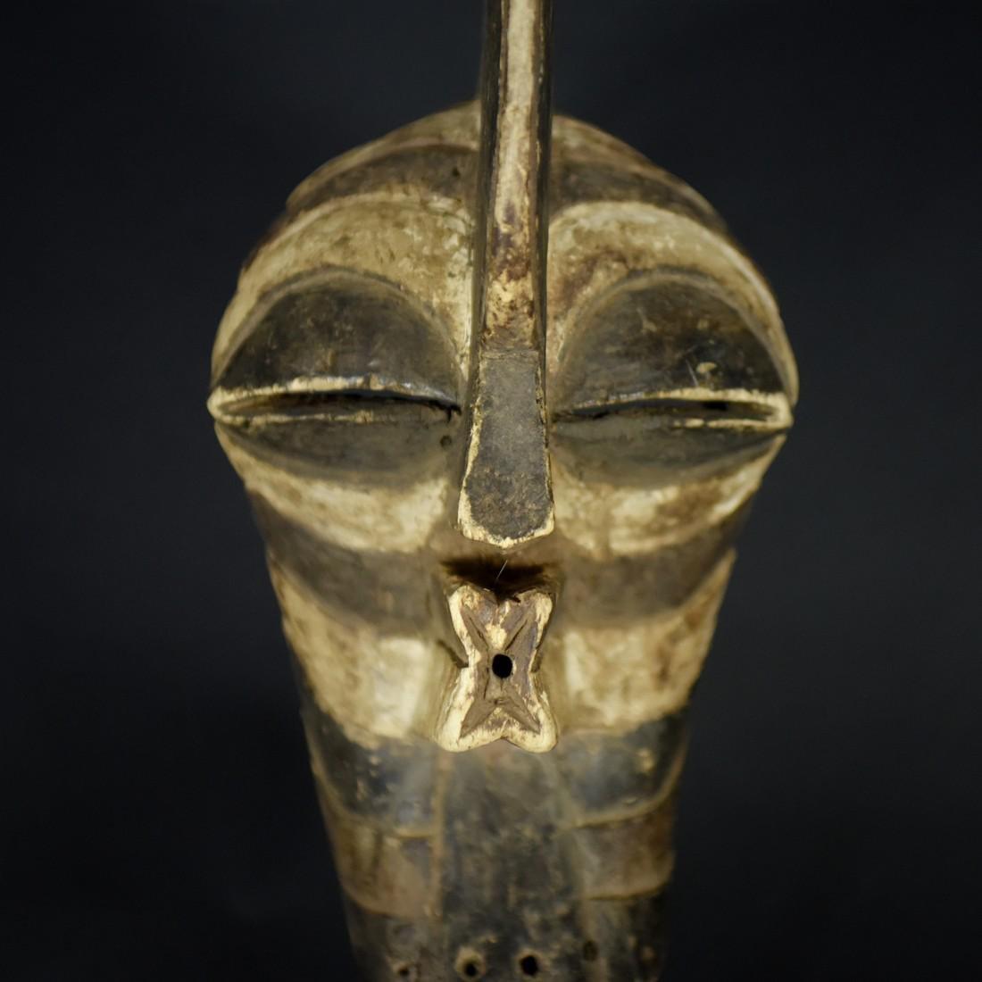African Tribal Songye Kifwebe War Mask - 3