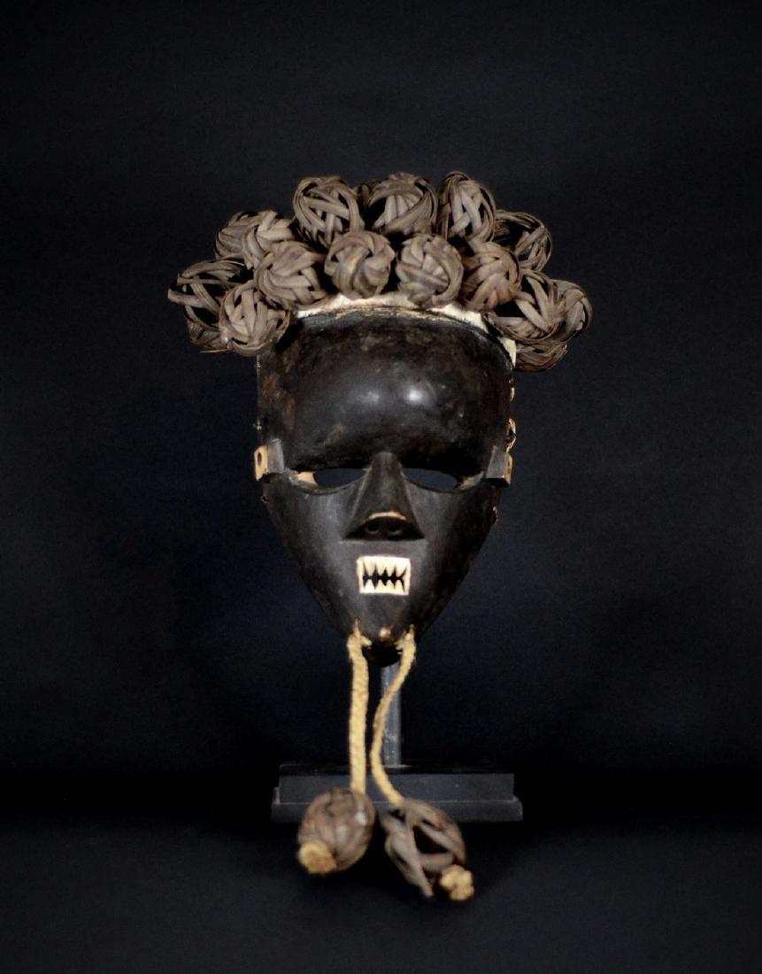 African Tribal Salampasu Kasangu War Mask