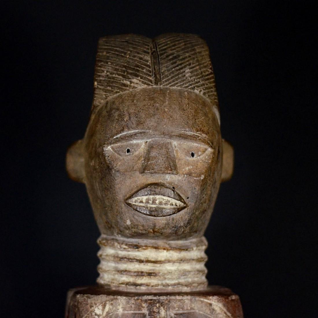 African Tribal Kuyu Figure. Gabon, Congo Brazzaville