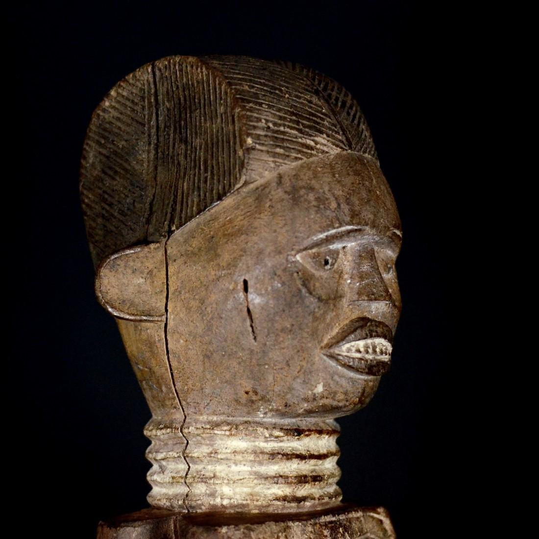 African Tribal Kuyu Figure. Gabon, Congo Brazzaville - 6