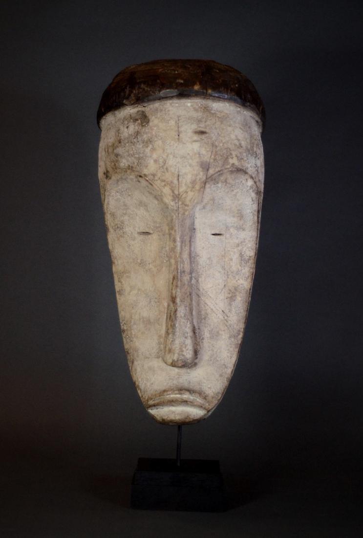 Huge African Tribal Fang Ngil Mask