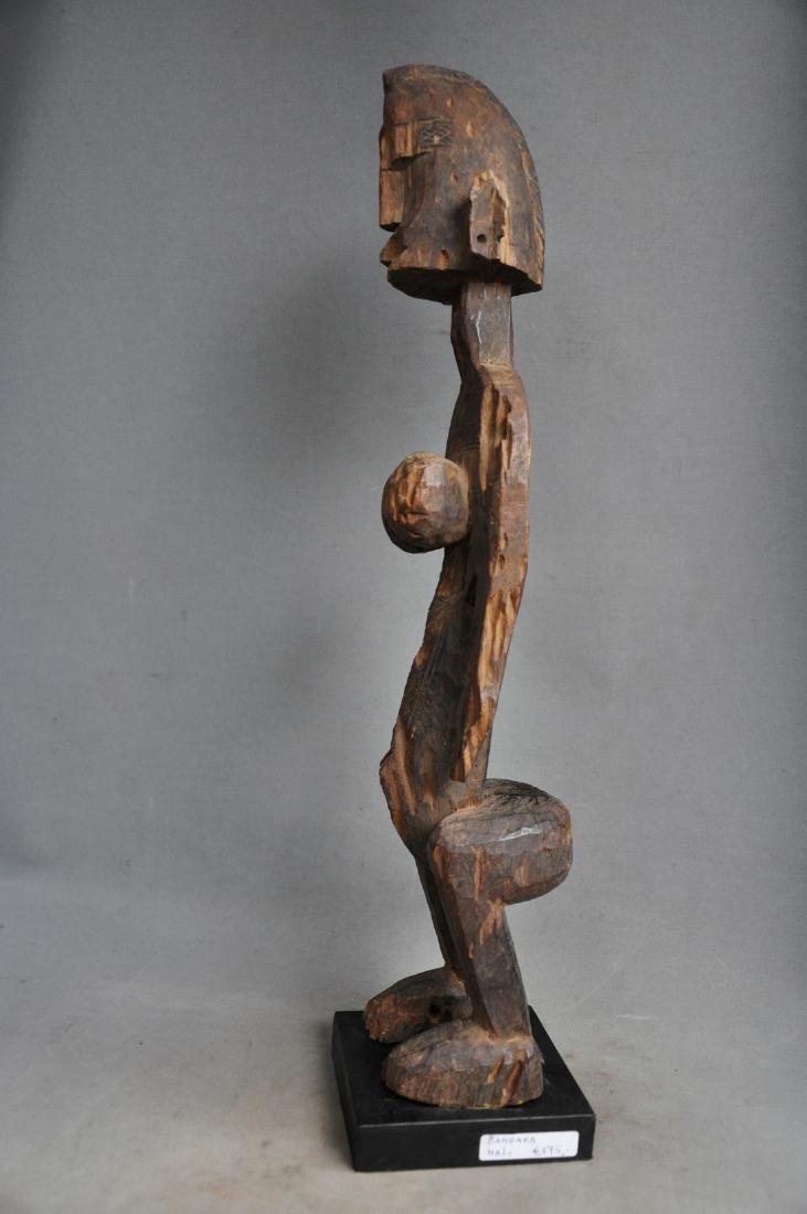 Old Female Ancestor Figure from the Bambara Tribe, Mali - 10