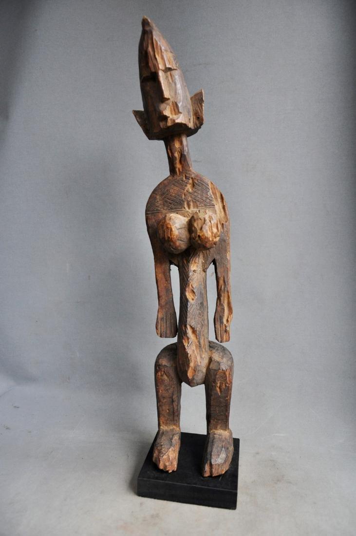 Old Female Ancestor Figure from the Bambara Tribe, Mali