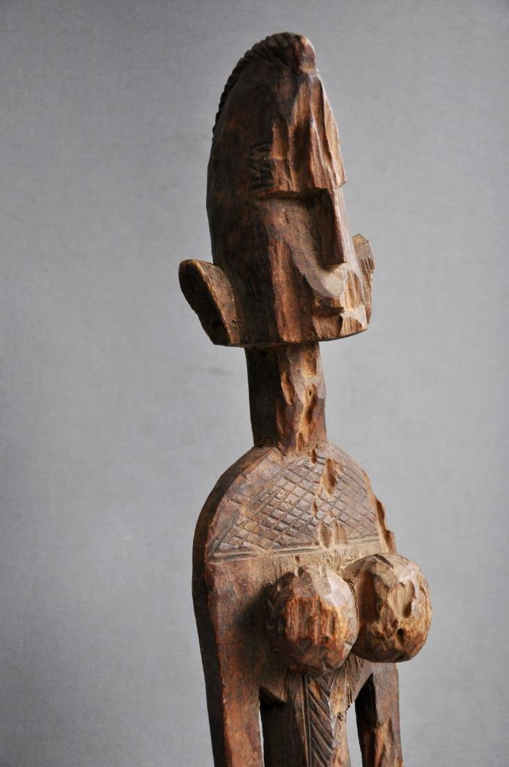 Old Female Ancestor Figure from the Bambara Tribe, Mali - 2