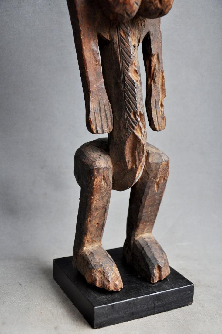 Old Female Ancestor Figure from the Bambara Tribe, Mali - 3