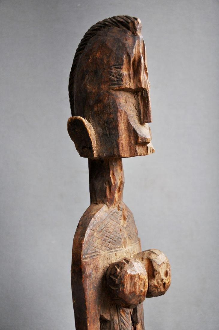Old Female Ancestor Figure from the Bambara Tribe, Mali - 5