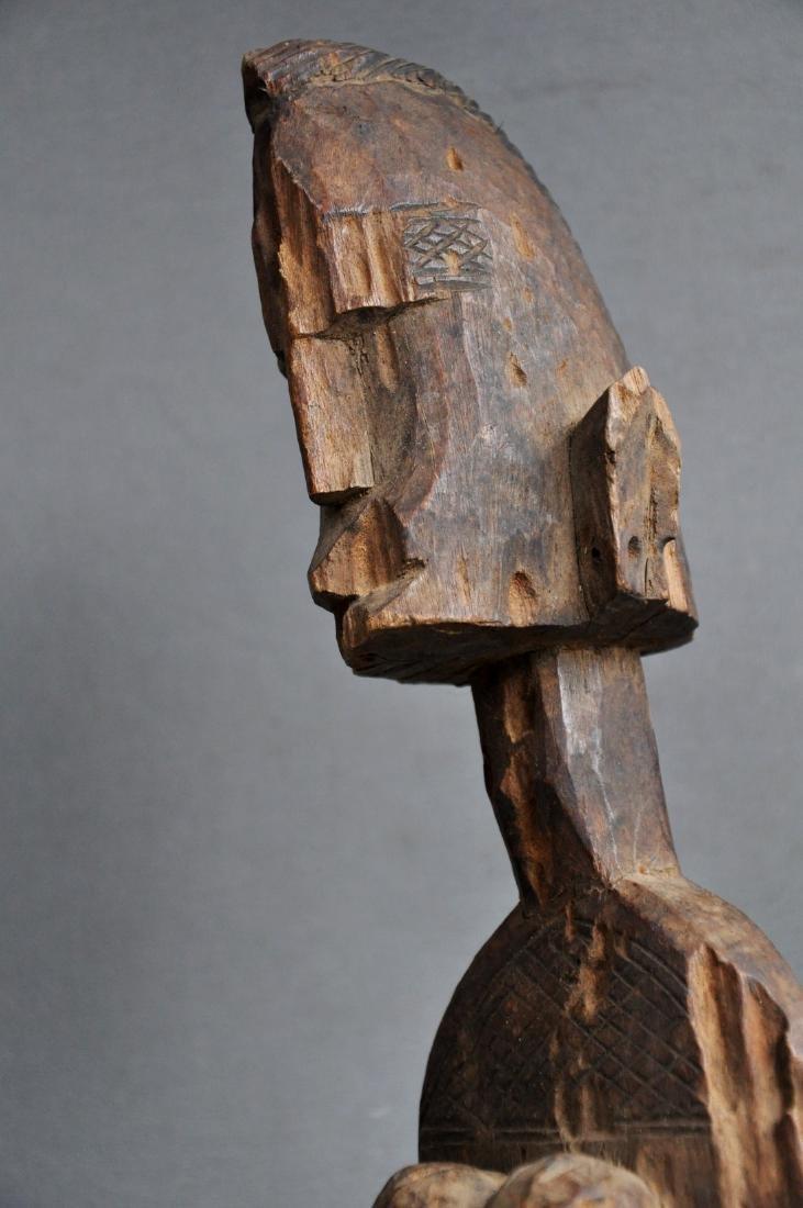 Old Female Ancestor Figure from the Bambara Tribe, Mali - 6