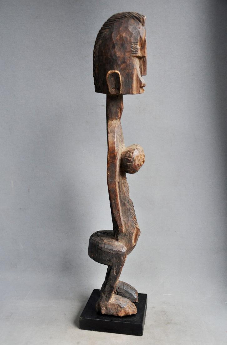 Old Female Ancestor Figure from the Bambara Tribe, Mali - 7