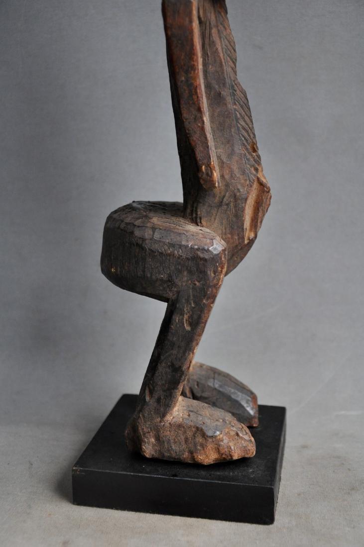 Old Female Ancestor Figure from the Bambara Tribe, Mali - 9