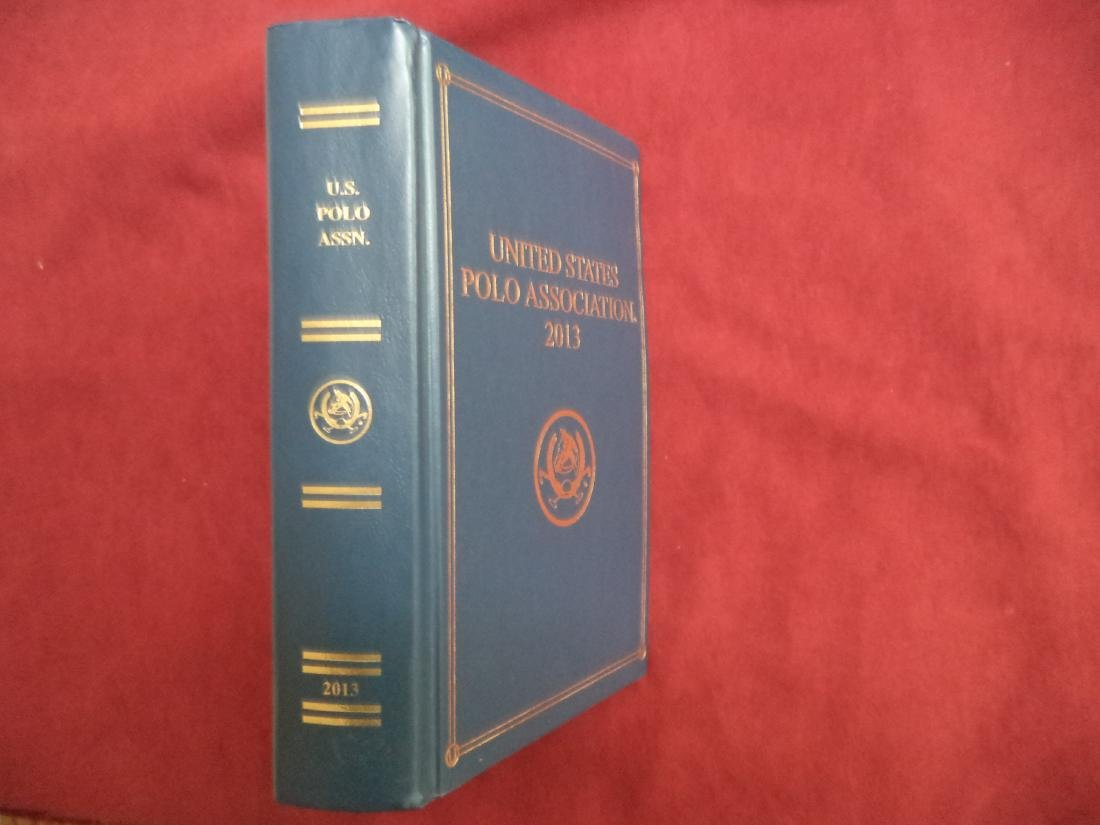 Yearbook of the United States Polo Association. 2013.