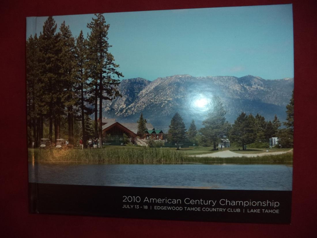 2010 American Century Championship. Edgewood Tahoe.