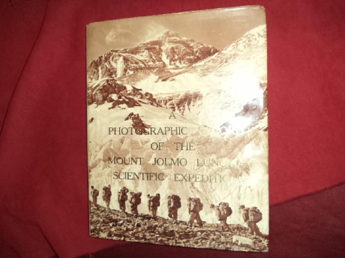 Photographic Record Mount Jolmo Lungma Scentific