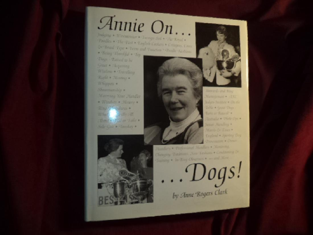 Annie On... Dogs! Inscribed by the author.
