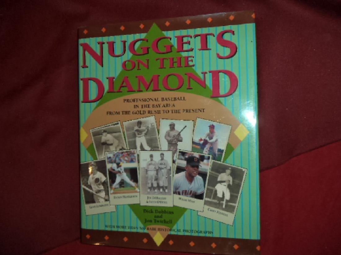 Nuggets on the Diamond Inscribed by the author Baseball