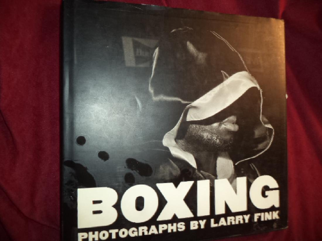 Boxing. Photographs by Larry Fink.