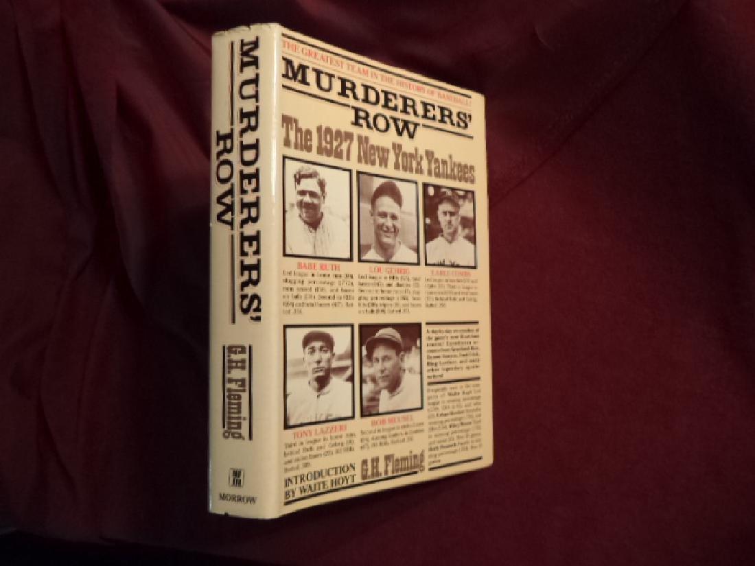 Murderers Row The 1927 New York Yankees Greatest Team