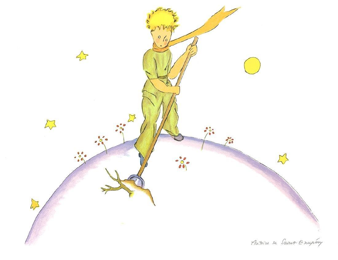 Antoine de Saint Exupery - Petit Prince au Travail (md)