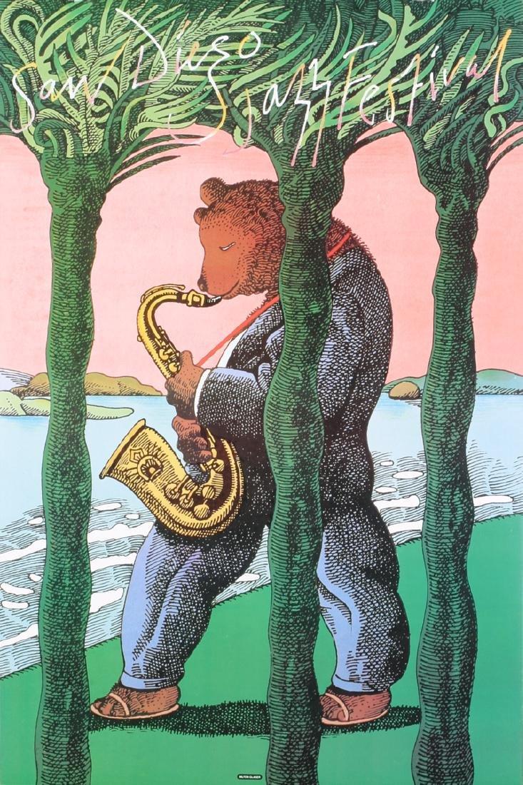 Milton Glaser - San Diego Jazz Festival