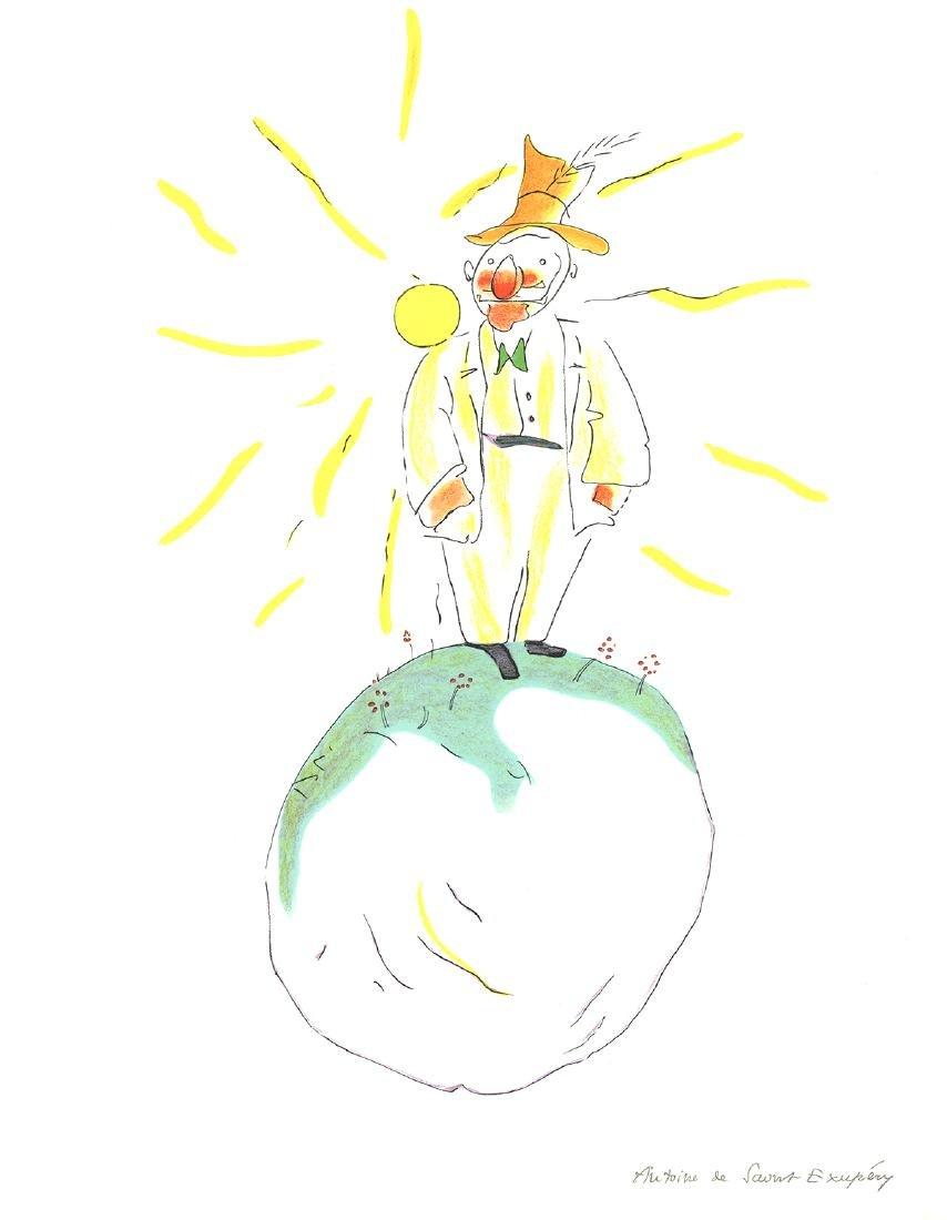 Antoine de Saint Exupery - The Conceited Man - 2008