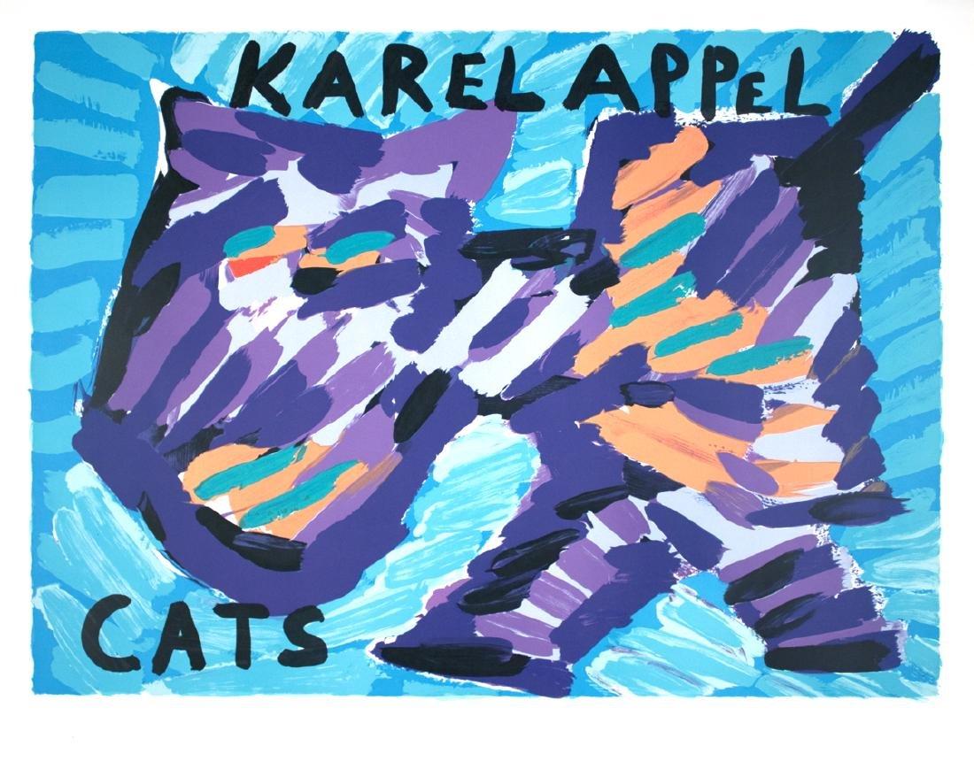 Karel Appel - Cats - 1978