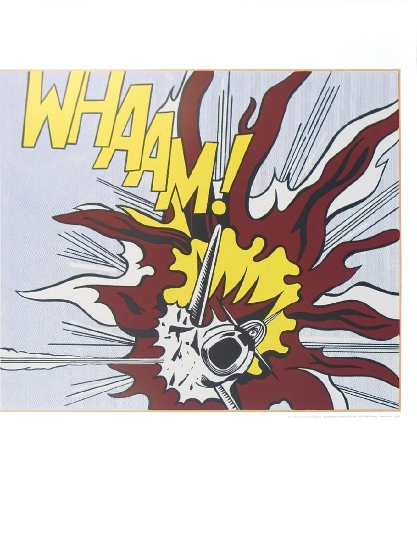 Roy Lichtenstein - Whaam B - 2007