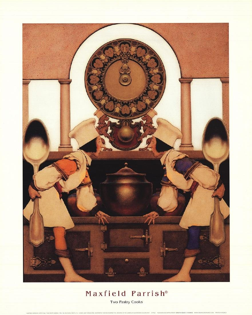 Maxfield Parrish - Two Pastry Cooks - 2003