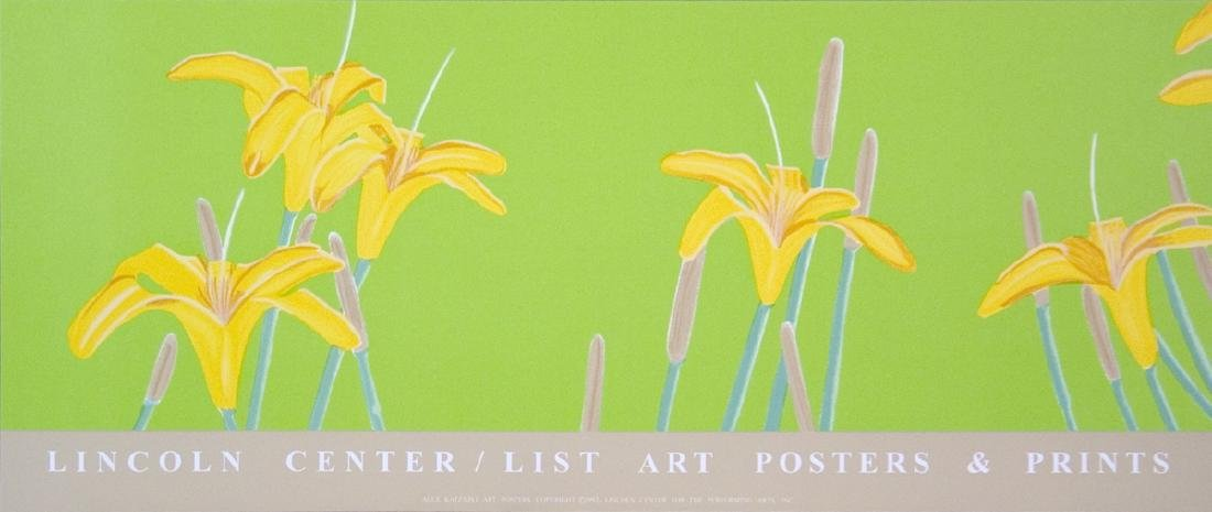 Alex Katz - Day Lilies - 1992