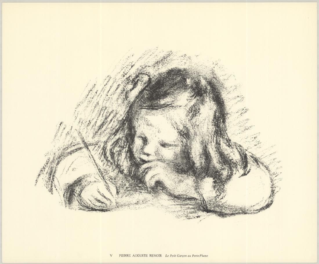Pierre-Auguste Renoir - Le Petit Garcon au Porte-Plume