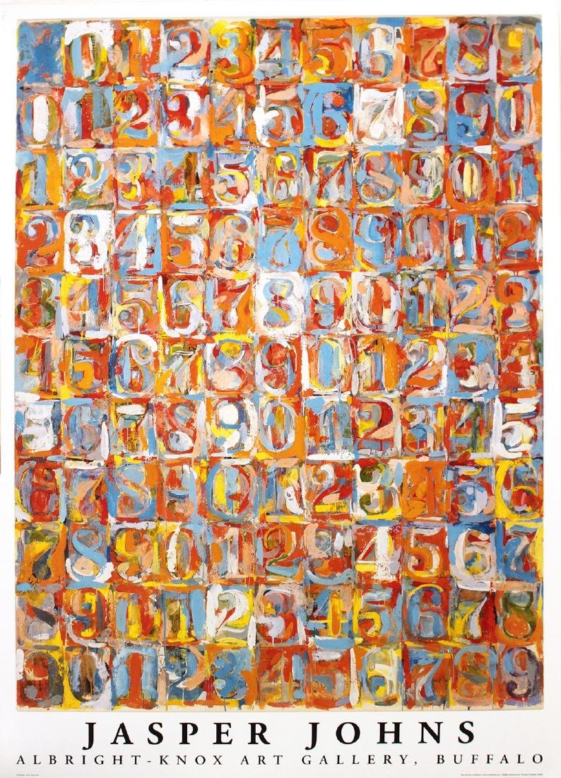 Jasper Johns - Numbers in Color - 1976