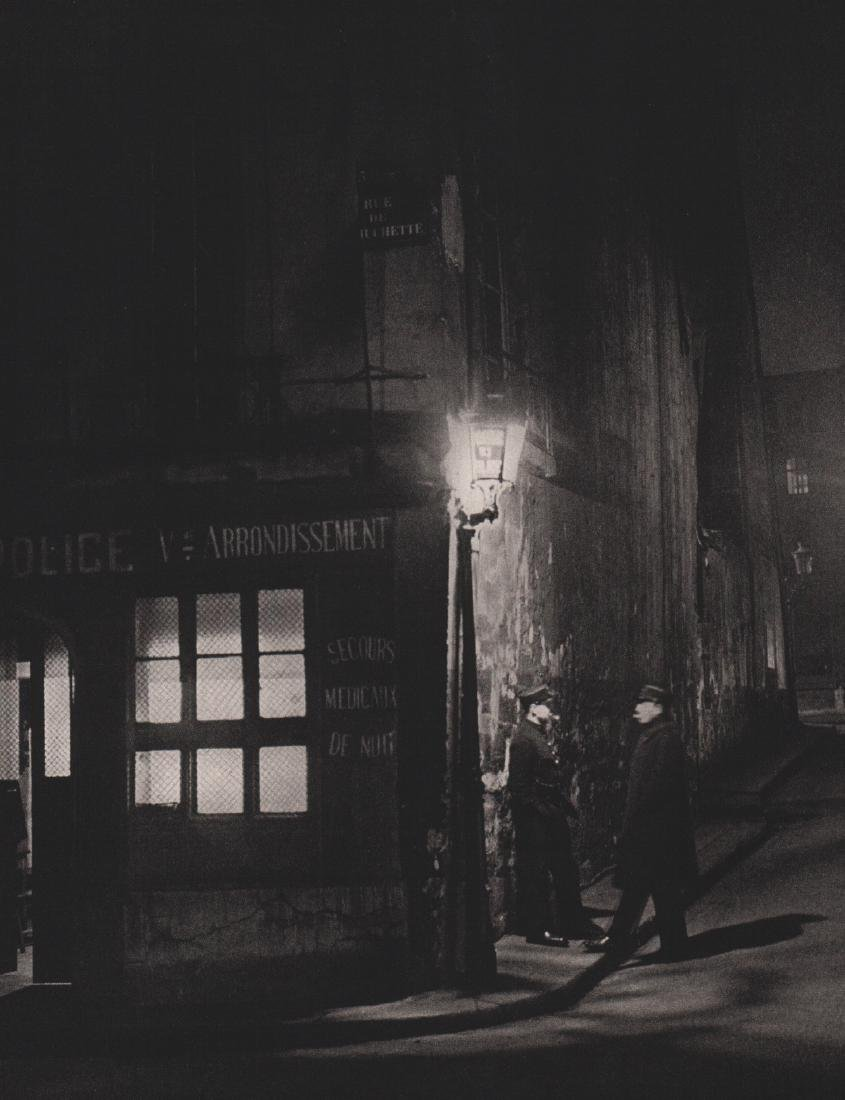 BRASSAI - Paris Police Station
