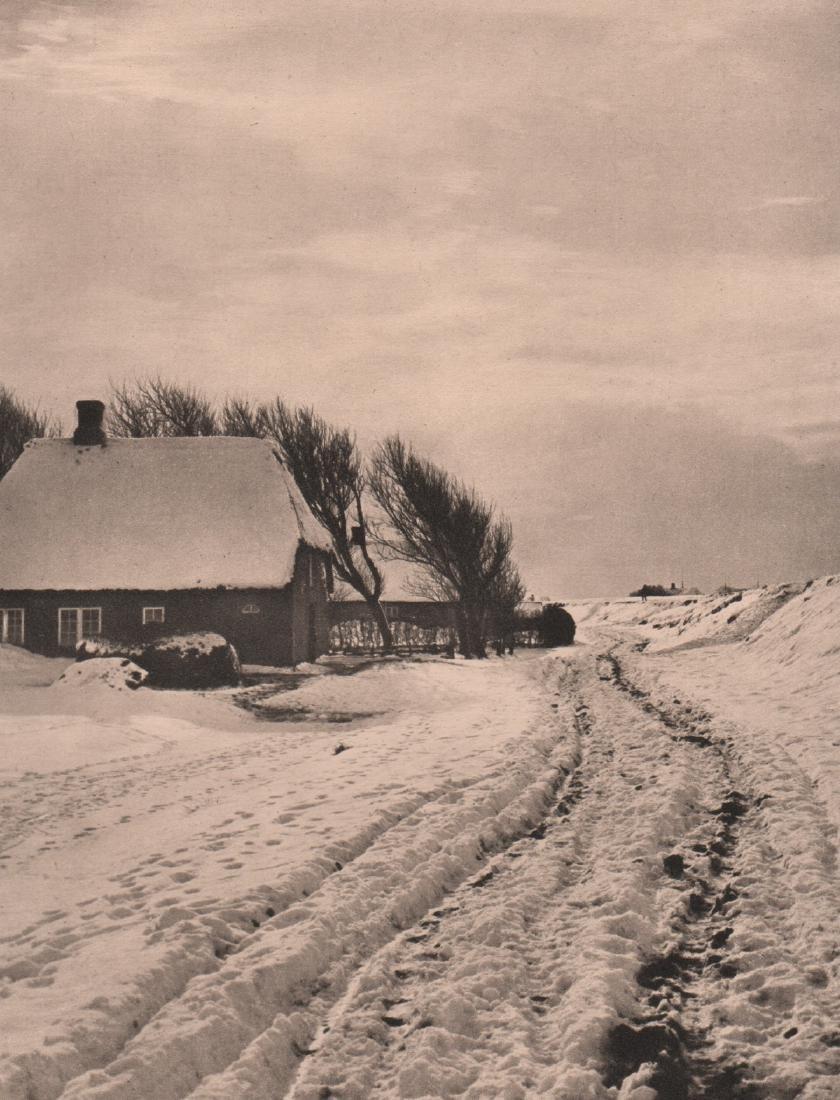H M CARSTENSEN - Winter Landscape