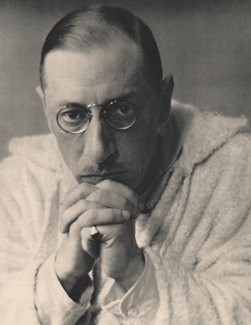 ALVIN LANGDON COBURN -  Igor Stravinsky, 1921