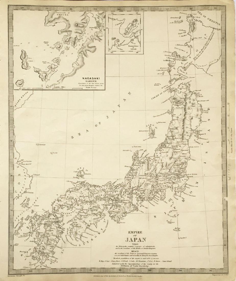 Baldwin & Cradock/SDUK: Empire of Japan, 1835