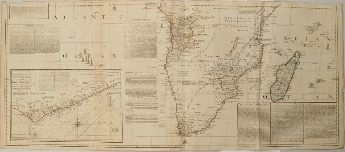 Sayer: Antique Map of Africa, 1787 - 2