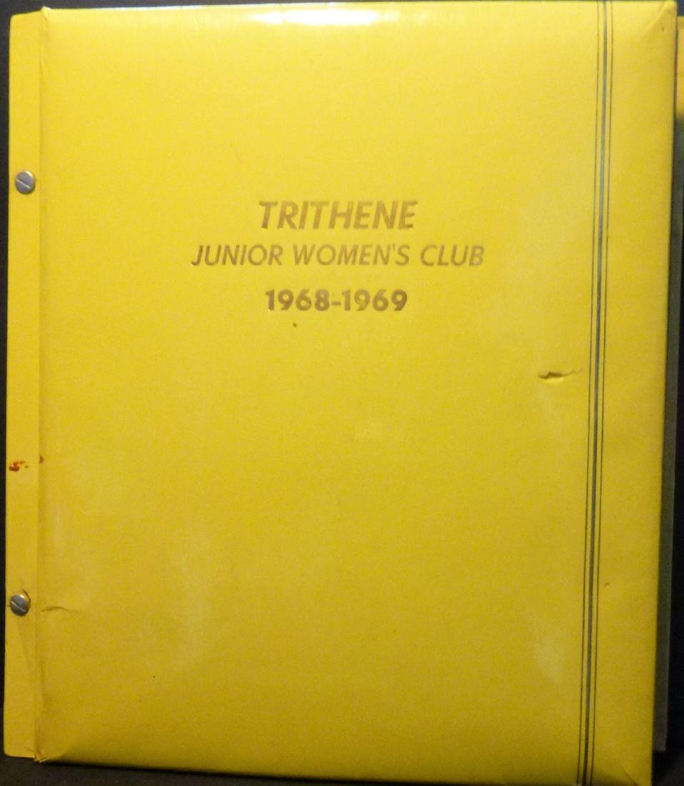 Trithene Junior Women's Club of Charlroi, PA 1968/1969