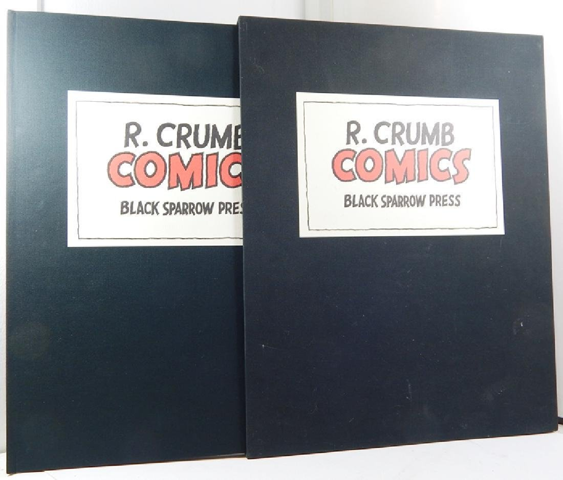 SIGNED Limited Edition Robert Crumb Comics