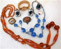 Lot of Antique  Vintage Jewelry