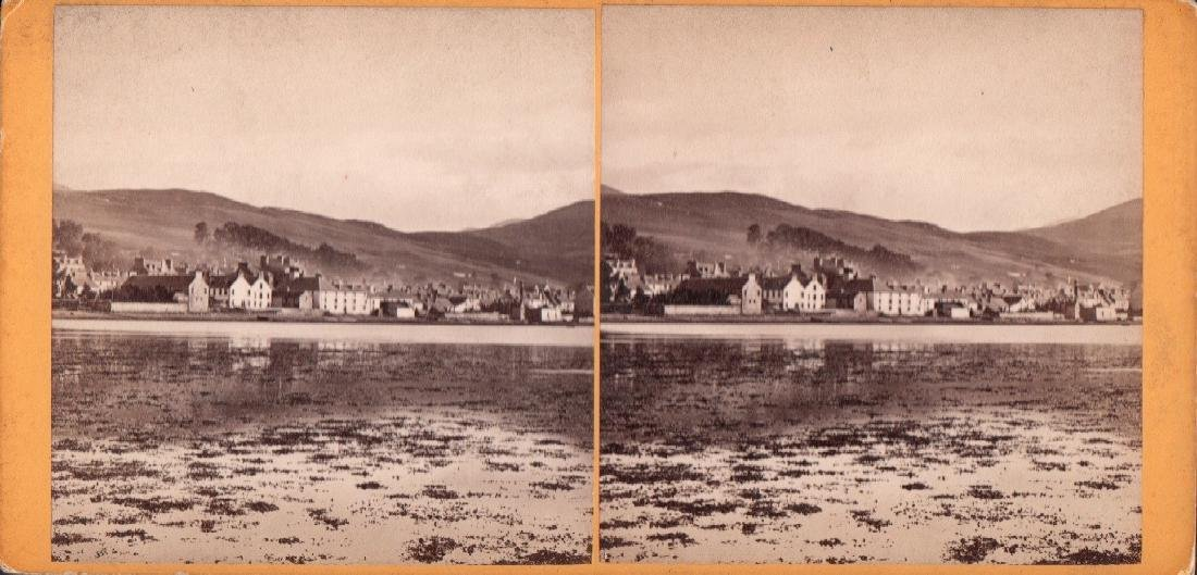 Stereoview of Fort Williams by G. W. Wilson 1870's