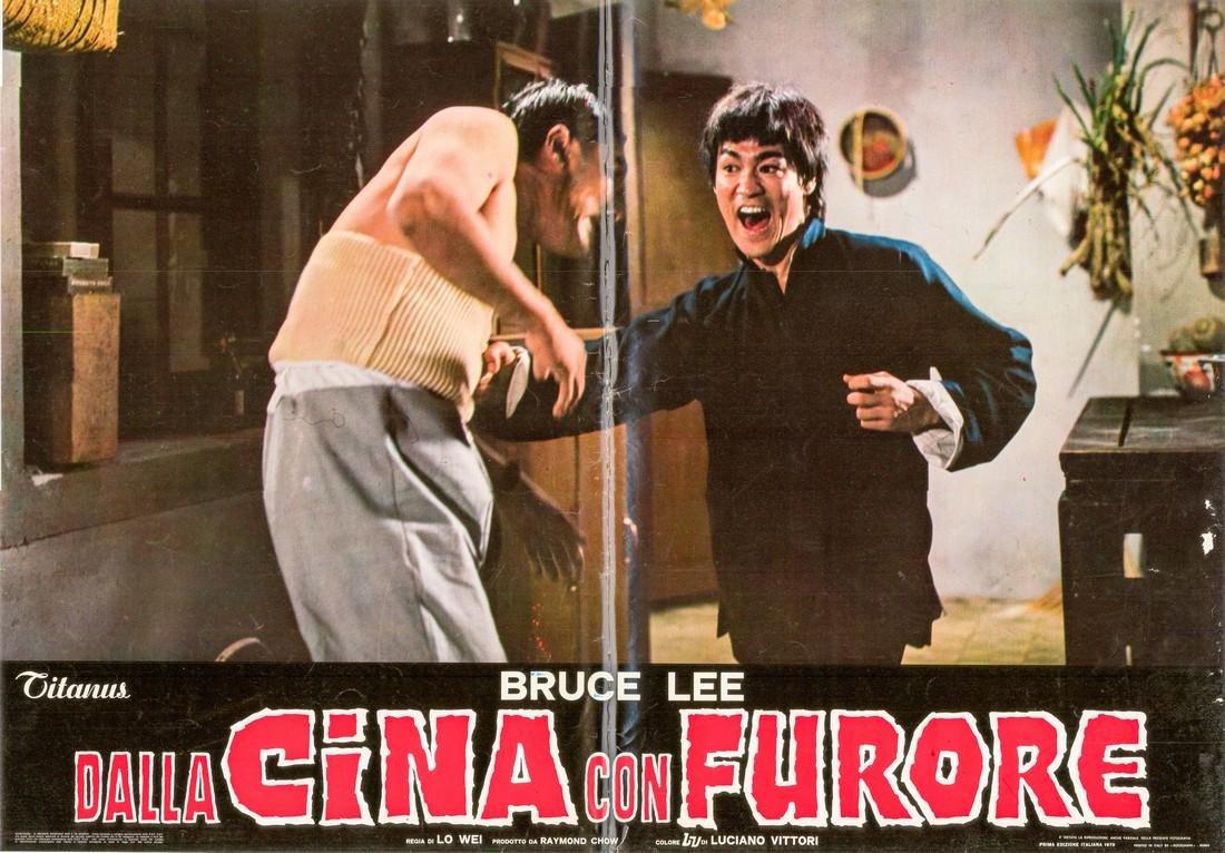 R1973 Bruce Lee Fists of Fury Style A Italian fotobust