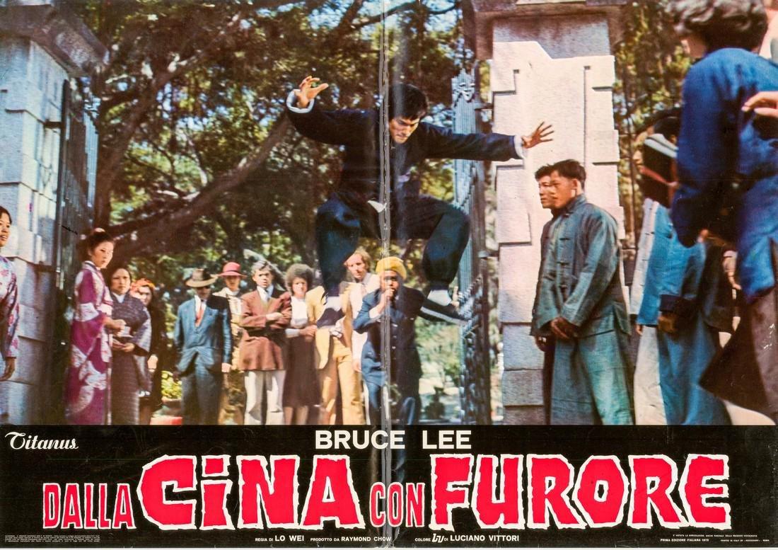 R1973 Bruce Lee Fists of Fury Style J Italian fotobusta
