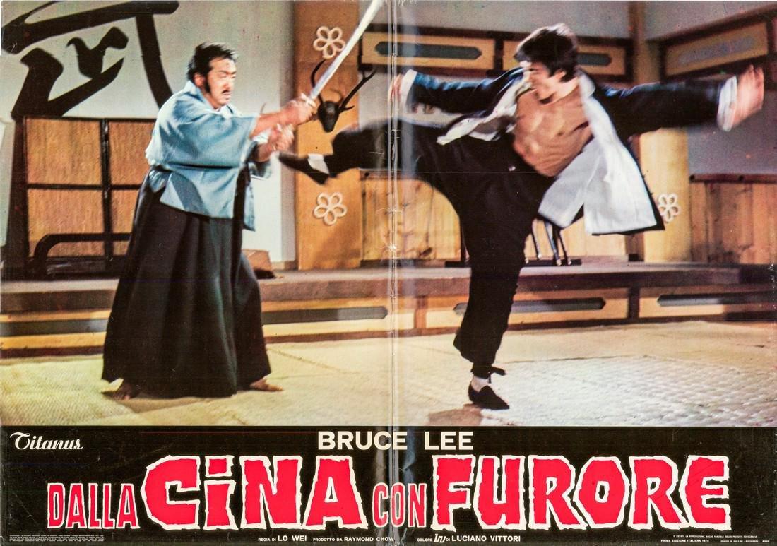 R1973 Bruce Lee Fists of Fury Style G Italian fotobusta
