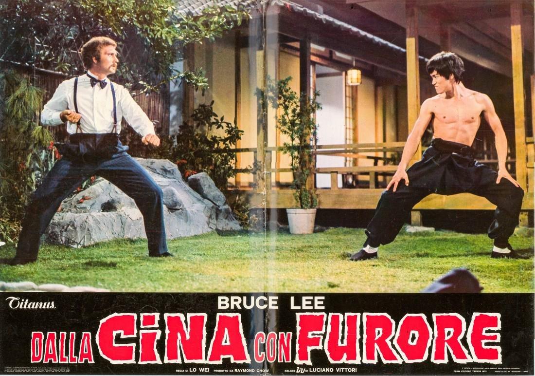 R1973 Bruce Lee Fists of Fury Style F Italian fotobusta