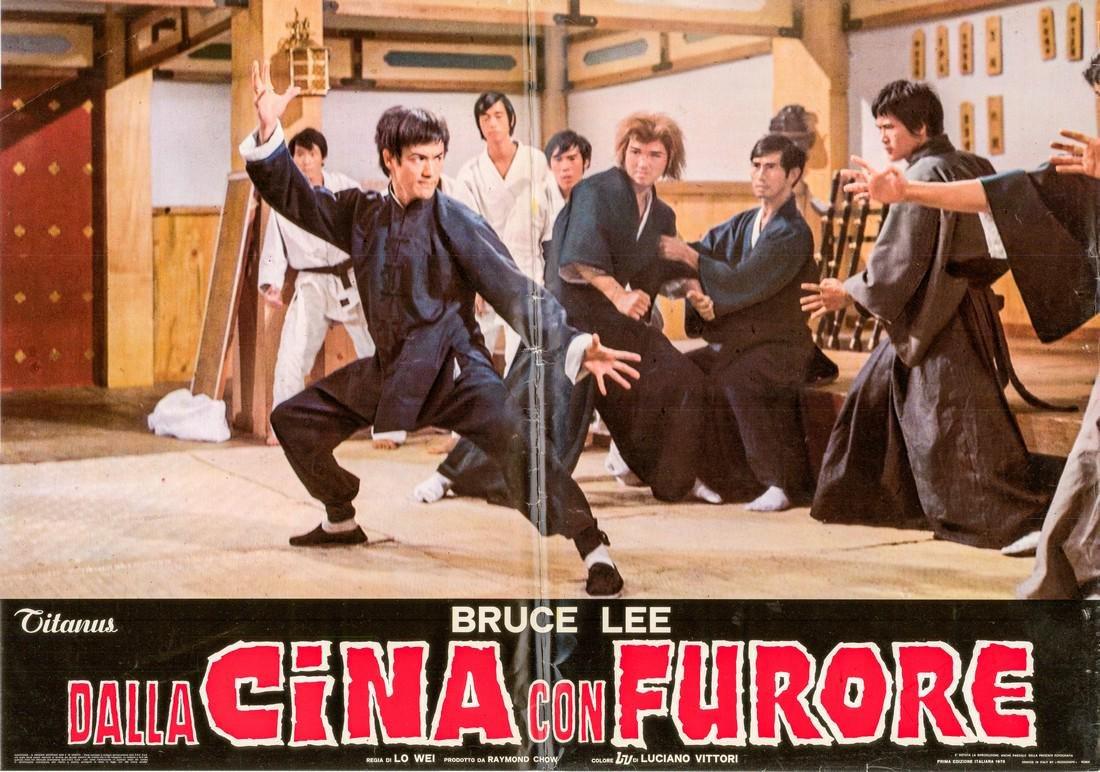 R1973 Bruce Lee Fists of Fury Style E Italian fotobusta