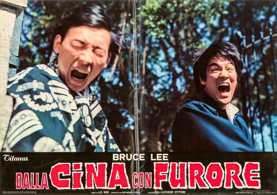R1973 Bruce Lee Fists of Fury Style D Italian fotobusta